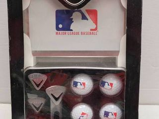 Callaway Golf Official MlB Golf Ball Set w  Place Markers   Tin