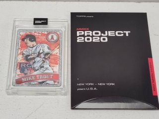 Topps Project 2020 Mike Trout by Blake Jamison limited Edition Online Exclusive