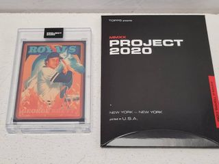Topps Project 2020 George Brett by Matt Taylor limited Edition Online Exclusive