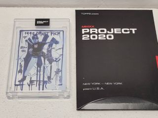 Topps Project 2020 Derek Jeter by Gregory Siff limited Edition Online Exclusive