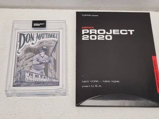 Topps Project 2020 Don Mattingly by Mister Cartoon limited Edition Online Exclusive