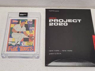 Topps Project 2020 Frank Thomas by Fucci limited Edition Online Exclusive