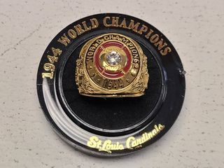 St  louis Cardinals 1944 World Series Champions Replica Ring New