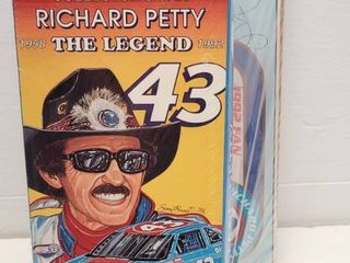 Richard Petty Autographed Card w  VHS   limited Edition Collector s Car New