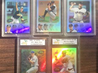 2004 05 E Topps E Convention Baseball Cards