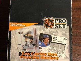1991 92 Pro Set Hockey Box 36 Sealed Packs