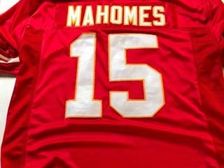 Patrick Mahomes Custom Kansas City  15 Jersey Size Xl