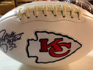 Signed Spencer Ware Kansas City Chiefs logo Football With JSA   CJ Sports Authentication