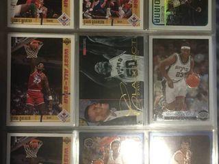 Full Binder Full of Basketball Trading Cards