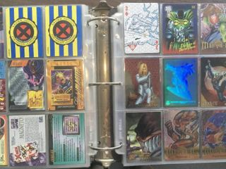 Full Binder Full of Non Sports Trading Cards