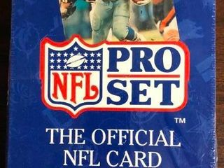 1992 Pro Set Series 2 Sealed Wax Box of Football Trading Cards   36 Total Packs