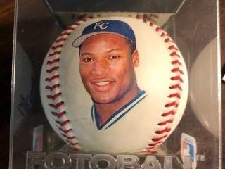 Bo Jackson Fotoball Baseball New In Package
