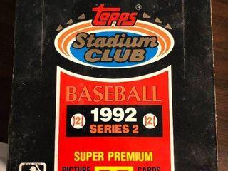 1992 Topps Stadium Club Series 2 Complete Box of 36 Packs