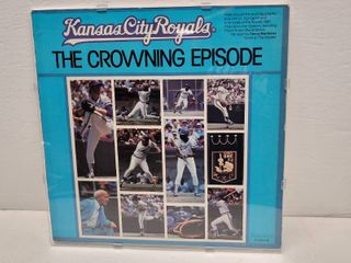 1980 Kansas City Royals American league Champions  The Crowning Episode  Full Size lP
