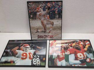 Neil Smith 8x10 lightfoot Photography Kansas City Chiefs Photo lot