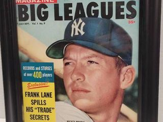 1959 Who s Who Sports Magazine Mickey Mantle New York Yankees