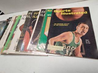 Vintage Sports Illustrated Magazine lot of 14 w  Johnny Bench   Tom Seaver