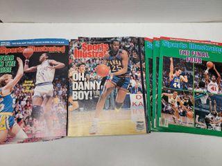 Danny Manning Kansas Jayhawks Sports Illustrated Magazine lot of 22