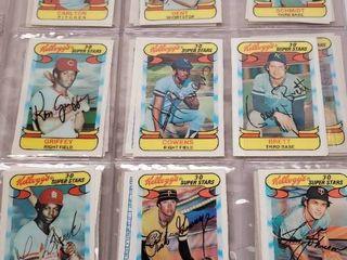 1978 Kellogg s 3D Complete Baseball Card Set of 57 w  George Brett   Nolan Ryan