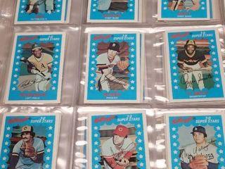 1982 Kellogg s 3D Baseball Card Set of 63 w  George Brett   Nolan Ryan