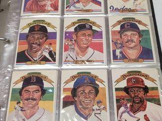 1982 Donruss Complete Baseball 660 Card Set w  Cal Ripken Jr  Rookie