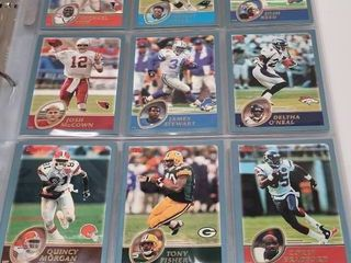 2003 Topps Complete Football 385 Card Set