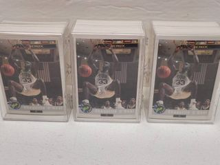 1992 Classic Basketball 100 Card Set lot of 3 w  Shaquille O Neal Rookies