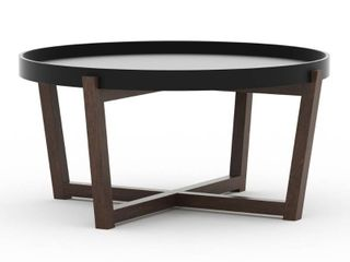 Aster Round Coffee Table Black   RST Brands