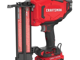 Craftsman 20V MAX Cordless 18 Ga  Brad Nailer Kit   Case Of  1  Each Pack Qty  1