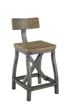 lancaster counter stool with back by ink and ivy