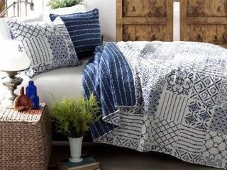 The Curated Nomad Sandia 3 piece Cotton Quilt Set Retail 94 99