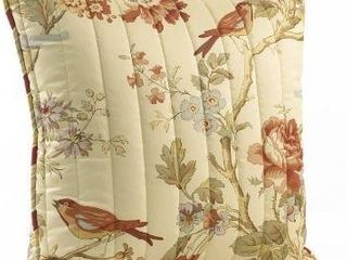 Waverly Charleston chirp quilted 20a pillow