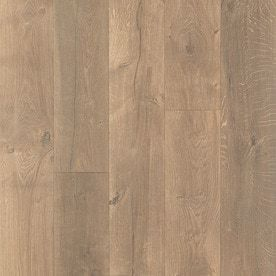 Pergo TimberCraft   WetProtect Waterproof Wheaton Oak 7 48 in W x 4 52 ft l Embossed Wood Plank laminate Flooring