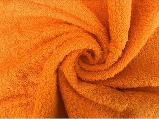 Orange  Solid Orange 100  Cotton Hand Towel