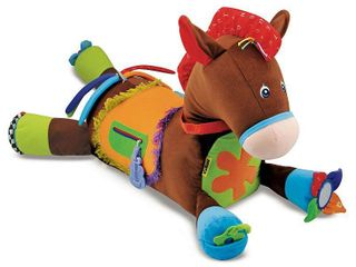 Melissa   Doug Giddy Up and Play Baby Activity Toy   Multi Sensory Horse