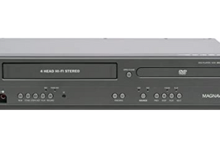 Vintage Magnavox   4 Head VCR and DVD Combo