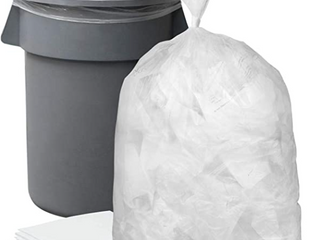Plasticplace 55 60 Gallon Trash Bags 1 5 Mil Clear Heavy Duty Garbage Can