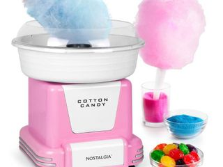 Nostalgia PCM805PNK Hard Candy Cotton Candy Maker