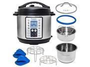 Yedi 9 in 1 Total Package Instant Programmable Pressure Cooker Xl 8 Quart