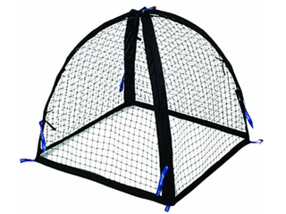 NuVue   Plant Protection Nets with Stakes   Set of Two