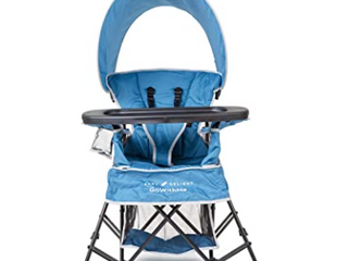 Baby Delight Go With Me Chair Indoor outdoor Chair With Sun Canopy Portable Blue