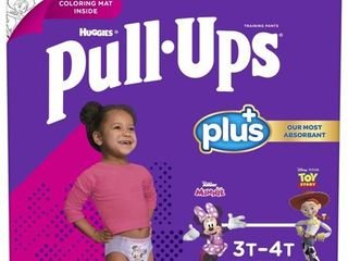 Pull Ups Girls  learning Designs Training Pants  3T 4T  84 Ct