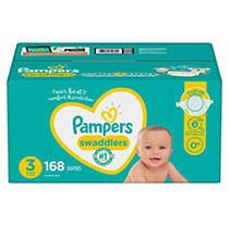 Pampers Swaddlers Disposable Diapers One Month Supply   Size 3  168ct