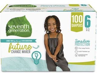 SEVENTH GENERATION 100CT DIAPERS