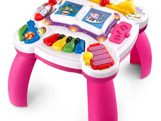 leapfrog learn And Groove Musical Table  frustration Free Packaging  Pink