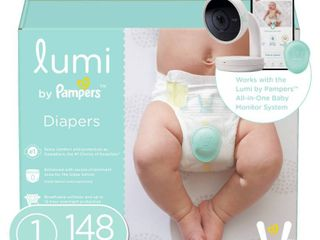 lumi by Pampers Diapers Enormous Pack   Size 1   148ct