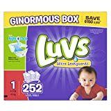 luvs Diapers  Ginormous Pack   Size 1  252 ct