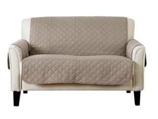Great Bay Home  Reversible Furniture Protector  Tan