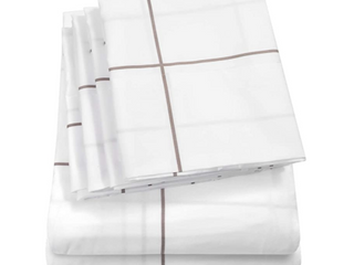 Sweet Home Collection Quality Deep Pocket Bed Sheet Set 2 Extra Pillow Cases