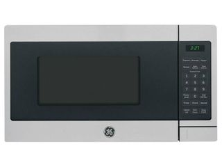 GE 0 7 Cu  Ft  Capacity Countertop Microwave Oven  Stainless Steel